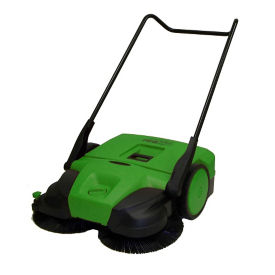 "Deluxe Turbo Walk-Behind Sweeper - 31""W, V22129"