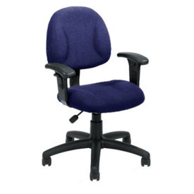 Fabric Task Chair with Arms, C80373