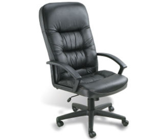 Bonded Leather High Back Executive Chair, C80213