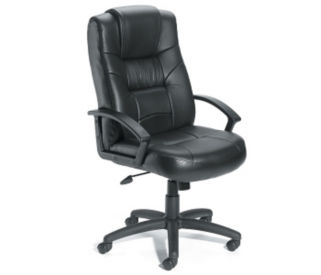 Bonded Leather High Back Managers Chair, C80319