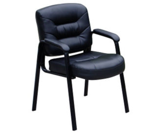 Bonded Leather Side Chair, W60314