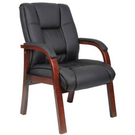 Guest Chair with Wood Frame, C80417