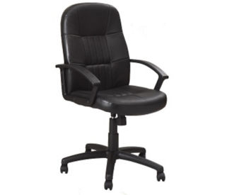 Bonded Leather Conference Chair, C90054