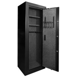 "Extra Large Biometric Rifle Safe - 19.63""W x 16""D x 57""H, B30547"
