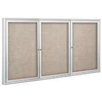 "Indoor Enclosed Board 72"" x 48"", B20080"