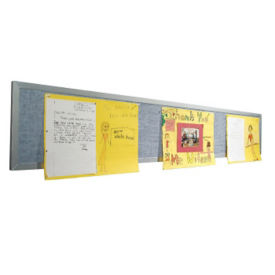 8'W Tackboard Display Panel, B23164