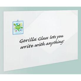"Magnetic Gorilla Glass Markerboard - 42""DIAG, B23403"