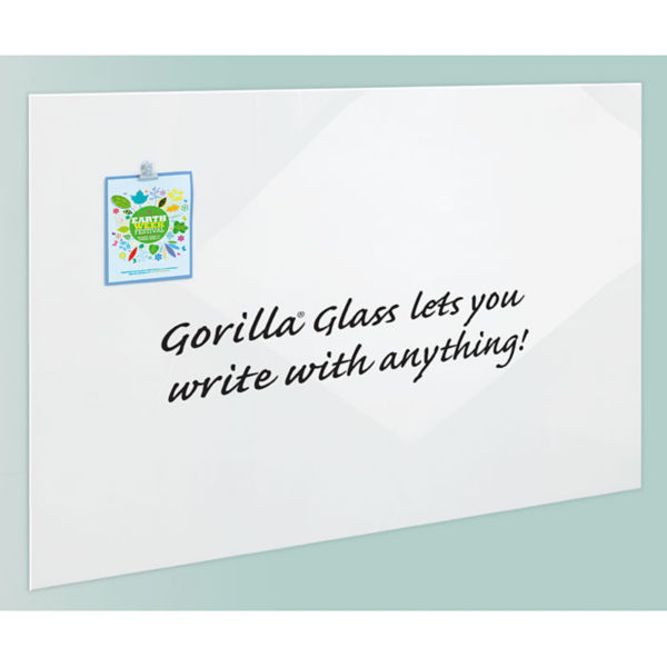 gorilla glass dry erase board