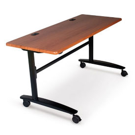 "72""W x 24""D Mobile Flipper Table, T12025"