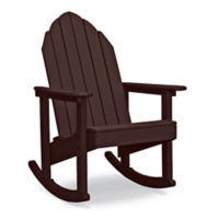 Recycled Plastic Outdoor Extra Wide Adirondack Rocker, F41835