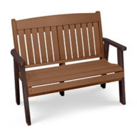 "Outdoor Bench - 48""W, F10414"