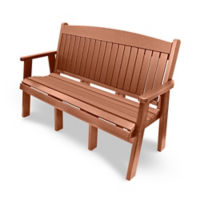 "Outdoor Bench - 60""W, F10415"