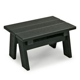 "Recycled Plastic Step Stool 8""H, F10766"