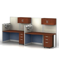 Two Straight Workstations Set, D35161