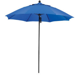 Sunbrella 9'W Pulley Lift Umbrella with Fiberglass Pole, F10318
