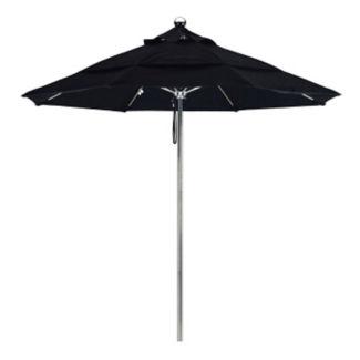 Sunbrella 9'W Pulley Lift Umbrella with Steel Pole, F10321