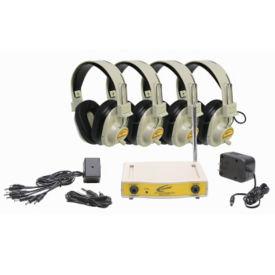 Wireless Listening Center, 72.100 MHz 4 Person, M16184