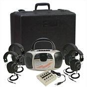 Spirit CD Player, Cassette, AM/FM Radio Listening Center 4 Person, M16197