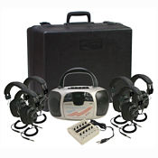 Spirit CD Player, Cassette, AM/FM Radio Listening Center 6 Person, M16198