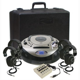 Spirit SD Audio Player Listening Center 4 Person, M16202