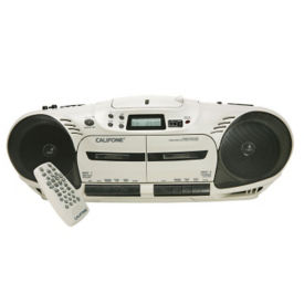 Performer Plus Double Cassette Audio Player, M16210