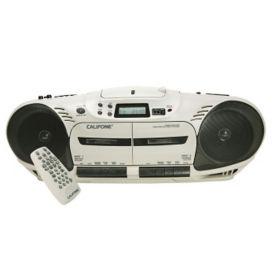 Performer Plus Double Cassette Audio Player, M16210