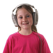 Headphones with Mono Mode Plug, M16218