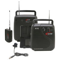 Portable Public Address System with Wireless Mic and Carry Case 206.400MHz, M16224