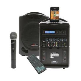 iPod Wireless Public Address System with Wireless Microphone, M16246