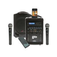 iPod Wireless Public Address System with 2 Microphones, M16247