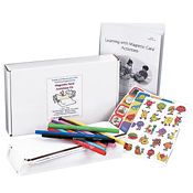 Magnetic Card Activity Kit with 100 Blank Cards, M16269