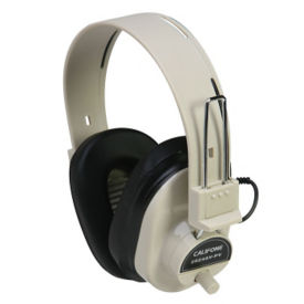 Mono Headphones with Individual Volume Control on Earcups, M16290