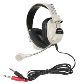Deluxe Headphone with Mic, M16292