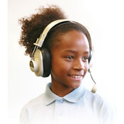 Deluxe Stereo Headphones with Mic, M16299