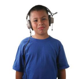 Mono Headphones with 1/4 Plug, M16301