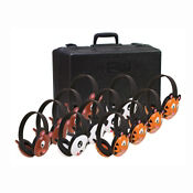 Listening First Stereo Headphones with Animal Earcups 12 Pack, P30366