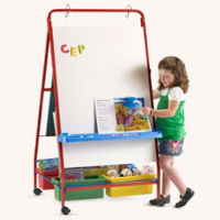 "Primary Teaching Easel - 30""W x 56.25""H, B20127"