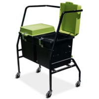 Two Tech Tub™ Base Storage Tubs with Cart, E10265