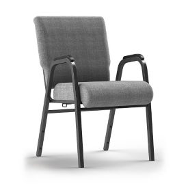 Stacking Chair with Arms and Ganging Bracket, C60242