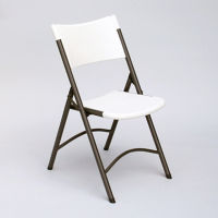 Blow Molded Plastic Folding Chair, C50152