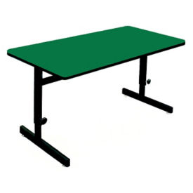 "Adjustable Height Table 48"" x 24"", E10142"