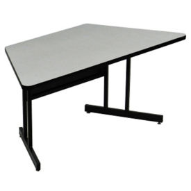 "Trapezoid Training Table 30""D x 60""W , T11645"