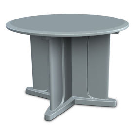 "Durable Molded Table - 42""DIA, T10504"