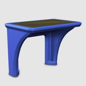 Flame Retardant Plastic Desk, D35236