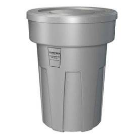 Fire Retardant Trash Can 50 Gallon Capacity, R20156