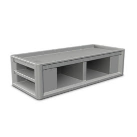 Flame Retardant Plastic Bed, V21372