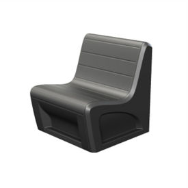 Polypropylene Lounge Chair 1500 lb Capacity, W60551