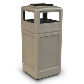 42 Gallon Dome Lid Trash Can with Ashtray, R20276
