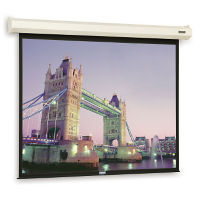 8' x 6' Electric Projection Screen, M13087