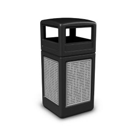 Dome Lid Waste Receptacle with Horizontal Design - 42 Gallon, R20316
